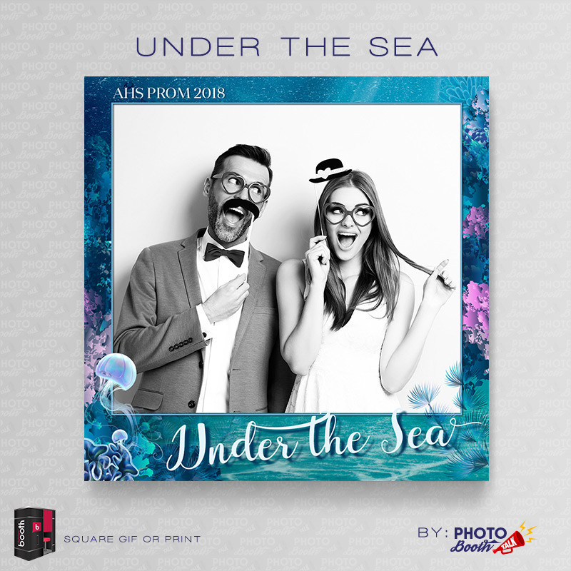 Under the Sea 5x5 Square - CI Creative