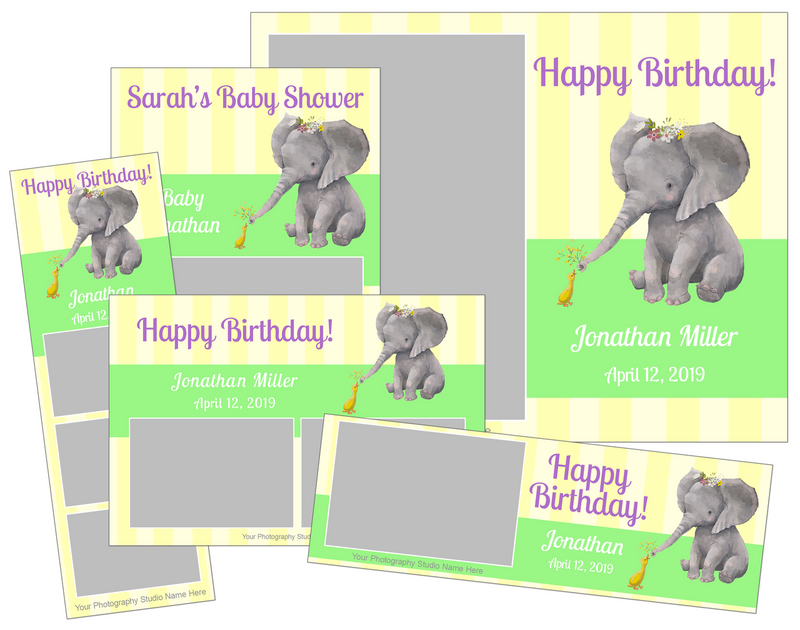 Baby Shower and Birthday Bundle - V2