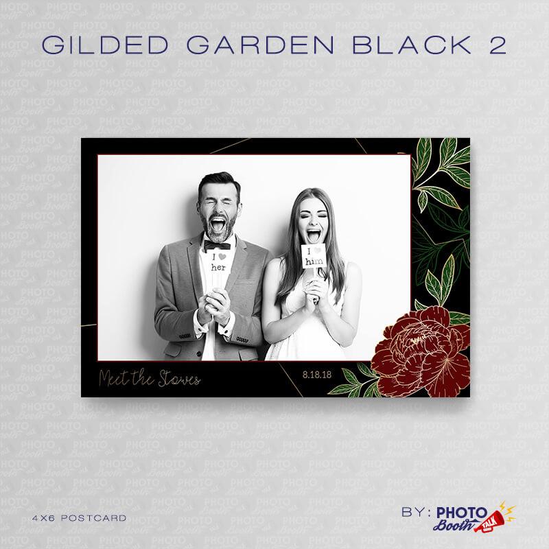 Gilded Garden Black 2 - CI Creative