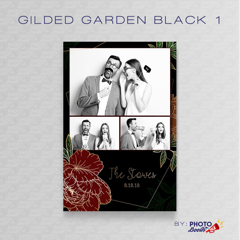Gilded Garden Black 1 - CI Creative