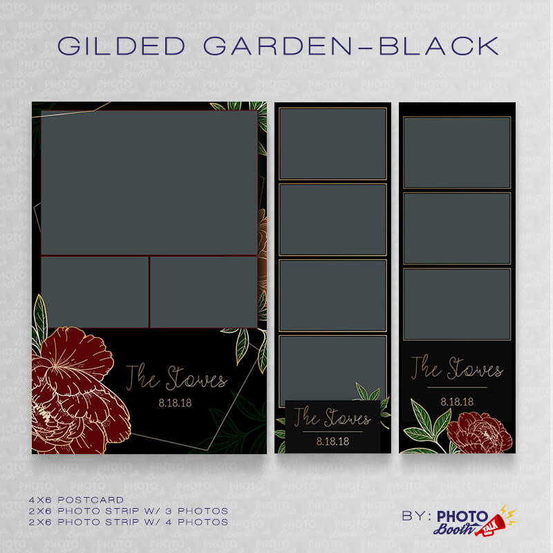 Gilded Garden Black 1 Bundle - CI Creative