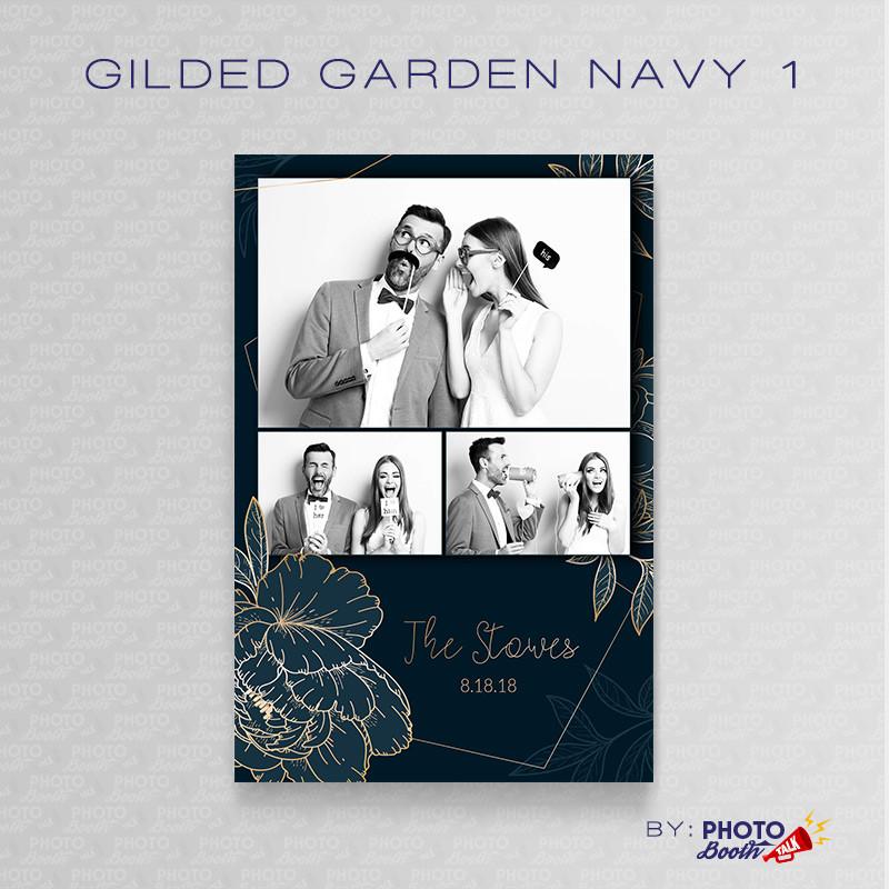 Gilded Garden Navy 1 - CI Creative