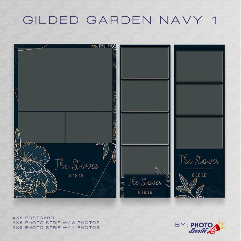 Gilded Garden Navy 1 Bundle - CI Creative