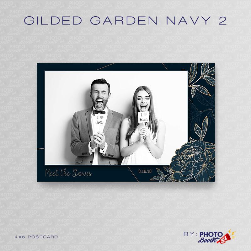 Gilded Garden Navy 2 - CI Creative