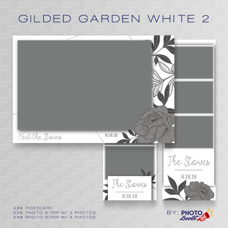 Gilded Garden White 2 - CI Creative