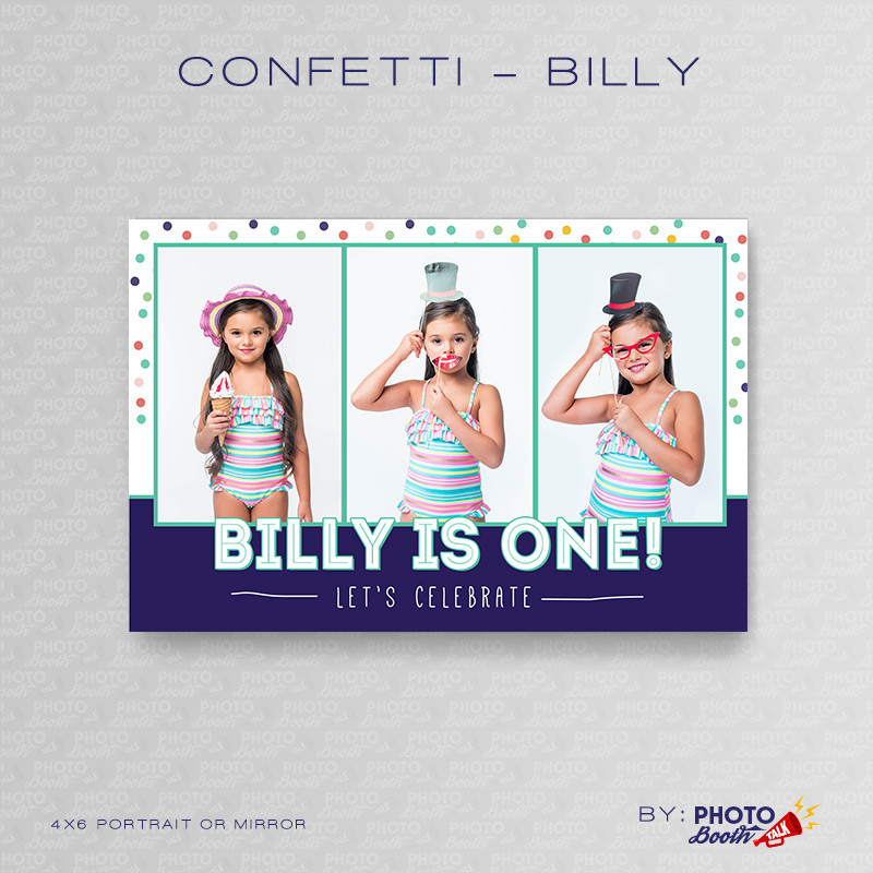Confetti Billy Portrait Mirror - CI Creative