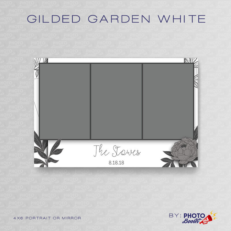 Gilded Garden White Portrait Mirror - CI Creative
