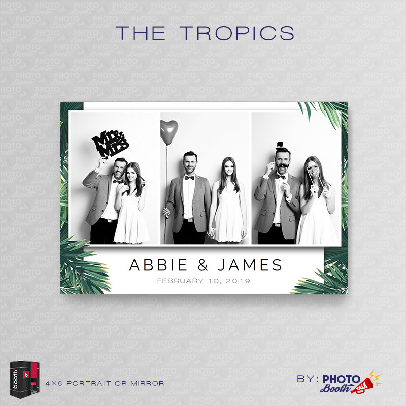 The Tropics Portrait Mirror - CI Creative