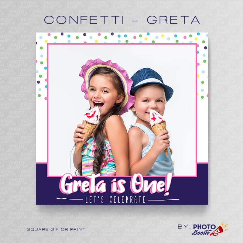 Confetti Greta Square - CI Creative