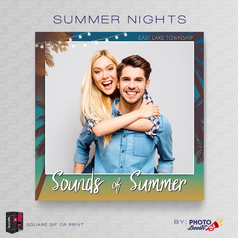 Summer Nights Square- CI Creative