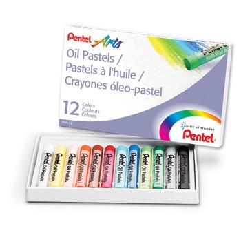 Pentel Oil Pastel Sets
