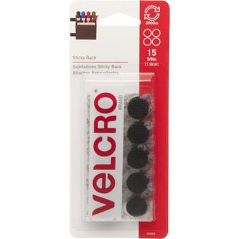 Velcro Sticky Back Coins 5/8