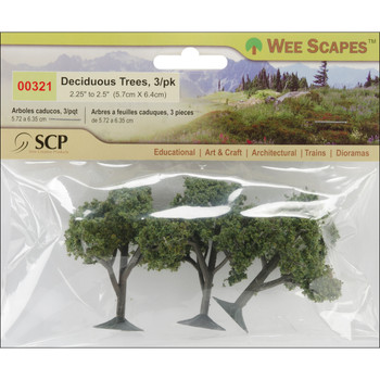 Deciduous Trees 3-pack