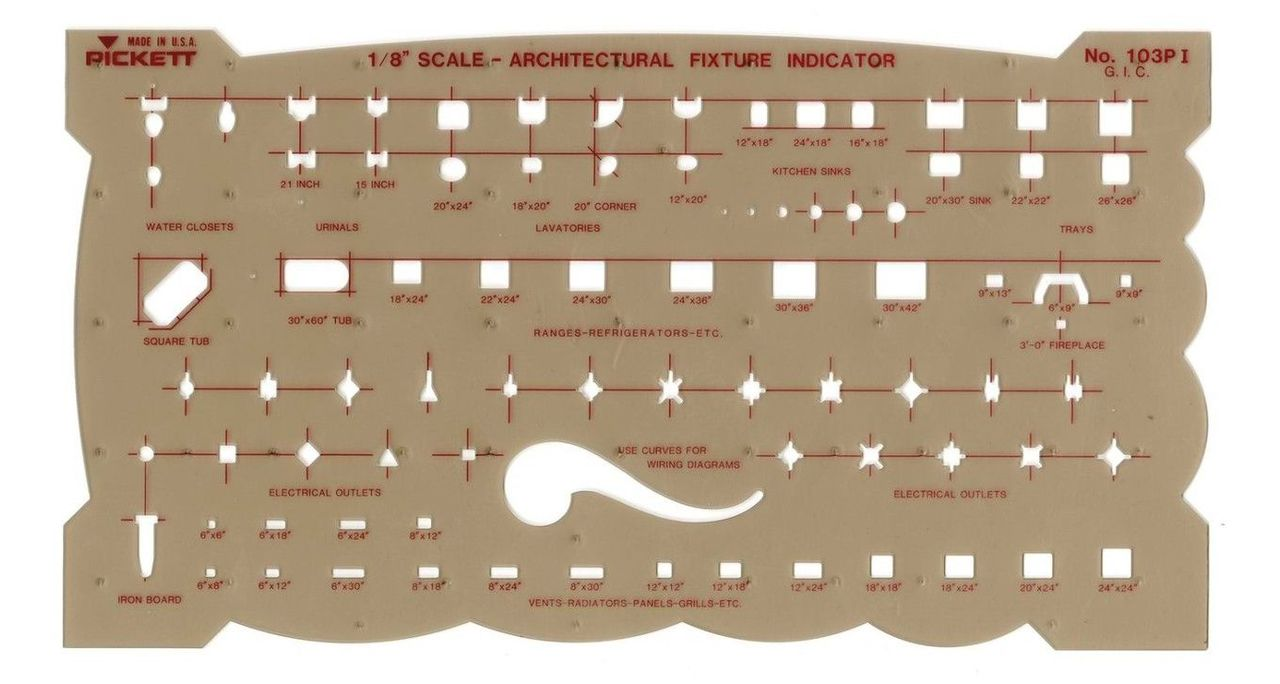 Architectural Fixtures Template - FLAX art & design