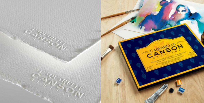 Canson Heritage Watercolor Sheets & Blocks