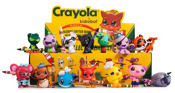 Kidrobot Crayola Critters