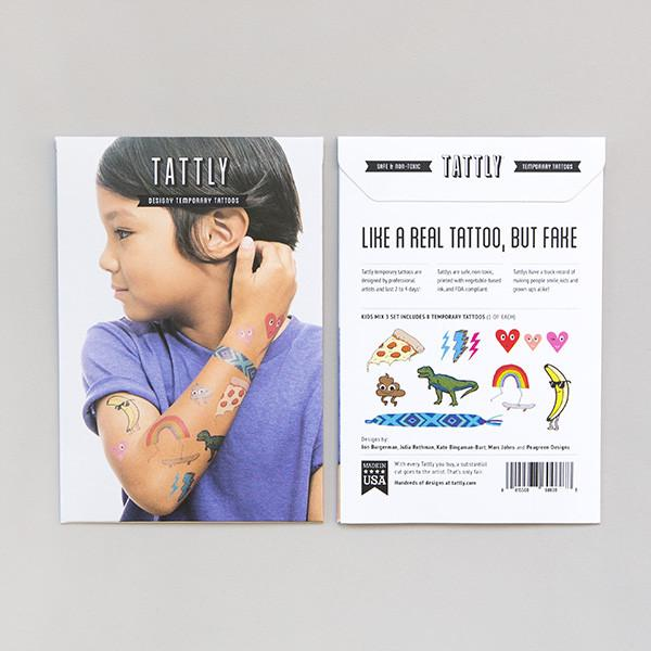 TATTLY - Designy Temporary Tattoos