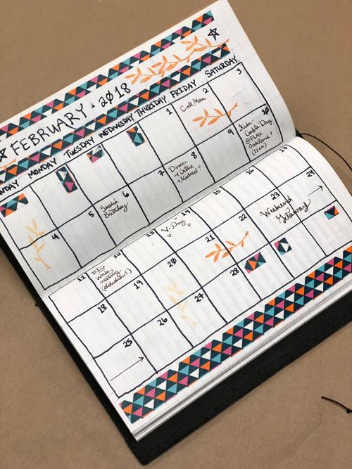 Traveler's Notebooks Planner