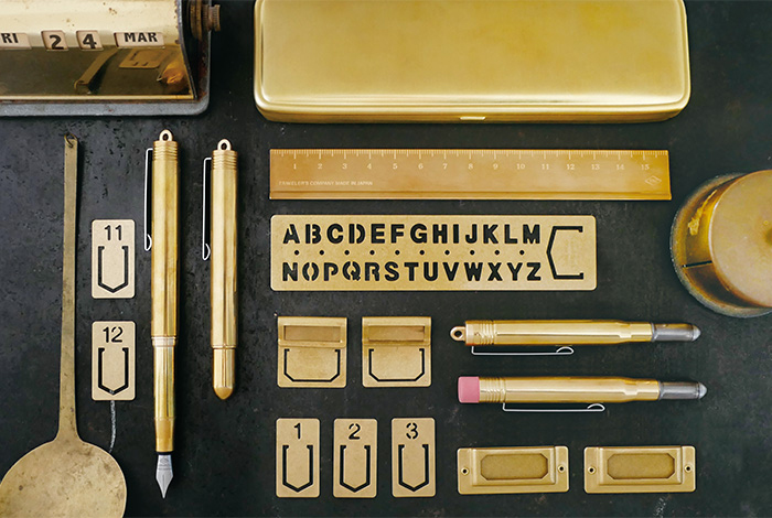 Traveler's Notebooks Brass