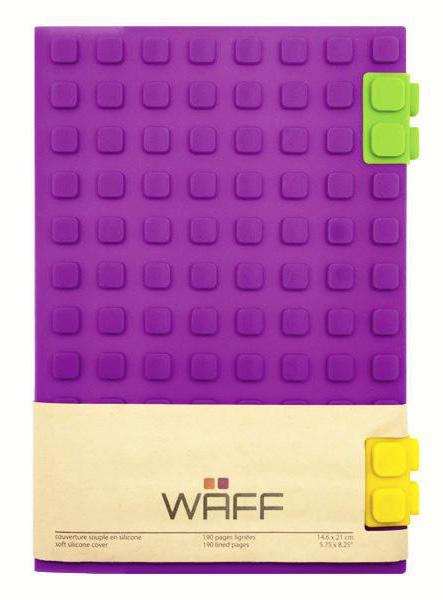 WAFF Journal purple