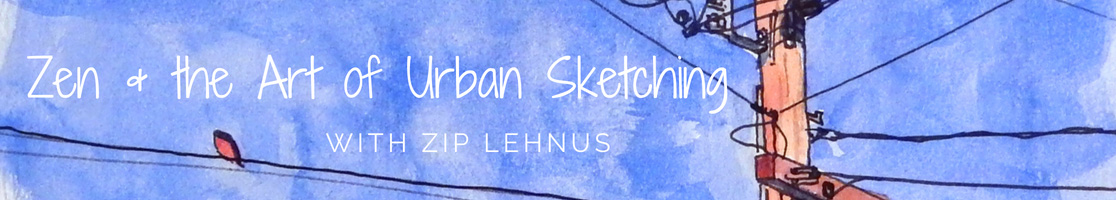 Zen and the Art of Urban Sketching