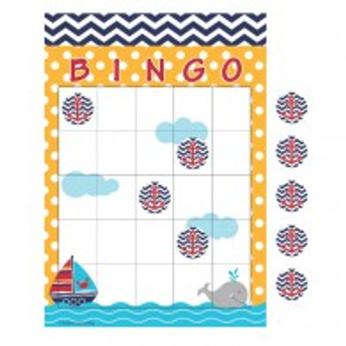 Ahoy Matey Bingo Game and Sticker Sheets