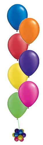 7 Balloon Bouquets On Weight