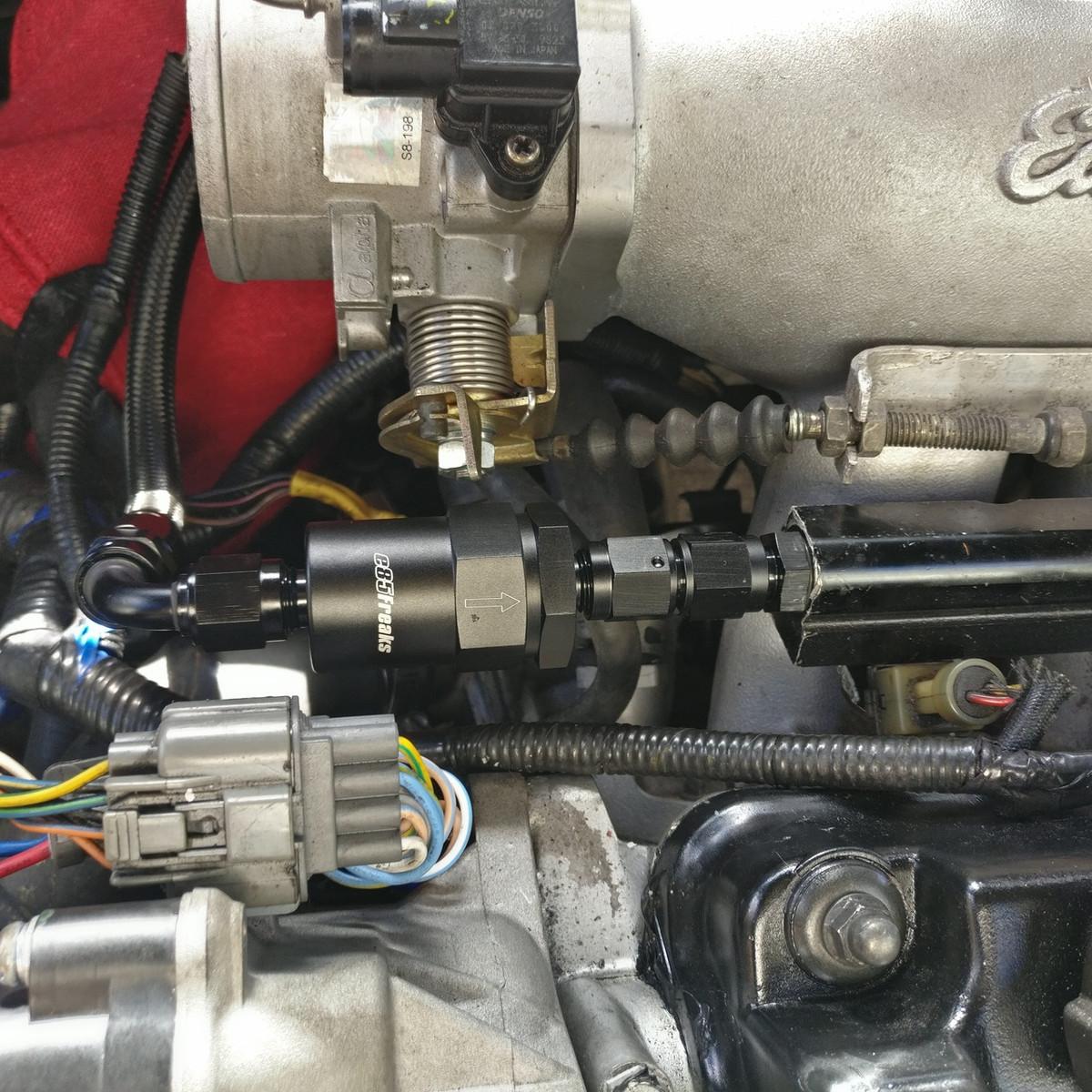 jbtuned honda ef civic da integra crx fuel line tuck kit 2015 honda civic fuel filter location