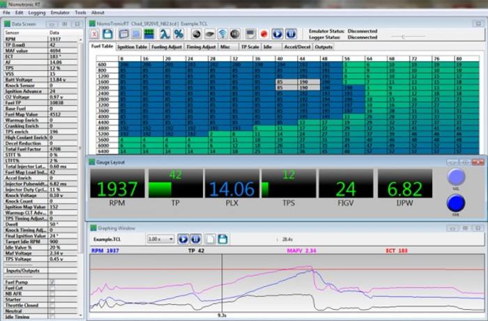 Nismotronic RT Software