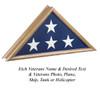 OAK PATRIOT FLAG CASE