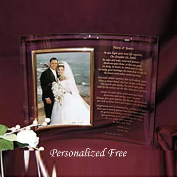 Personalized 8 x 10 Photo Frame for Parents Gift