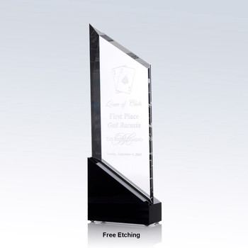 Rising Sail Crystal Award