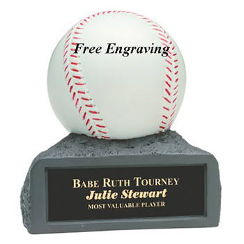 Resin Baseball Award