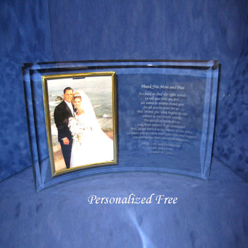 Picture Frame for New Spouse with Verse