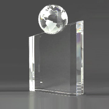 World Globe Crystal  Award