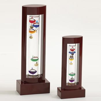 Wood Galileo Thermometer