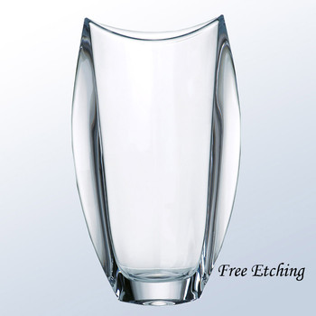 Orbit Crystal Vase