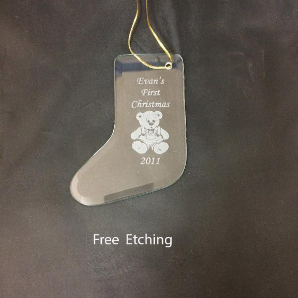 GEFTM117 Christmas Stocking Ornament