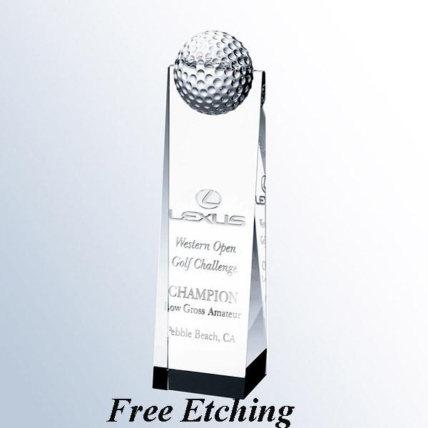 Golf Ball Tower Trophy