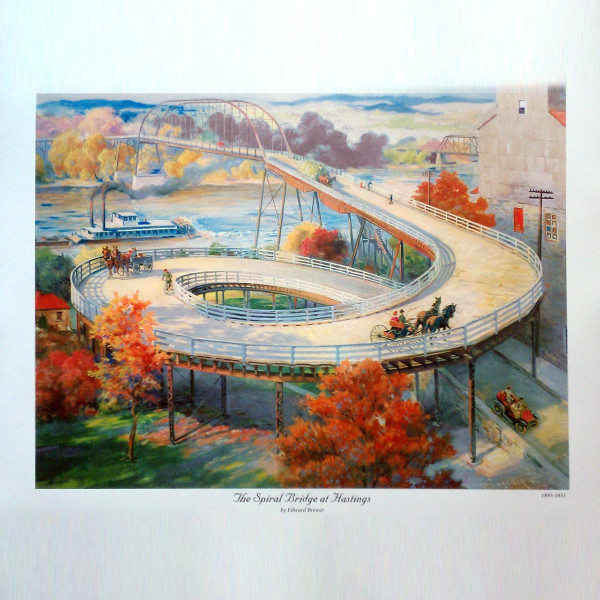 Spiral Bridge Prints