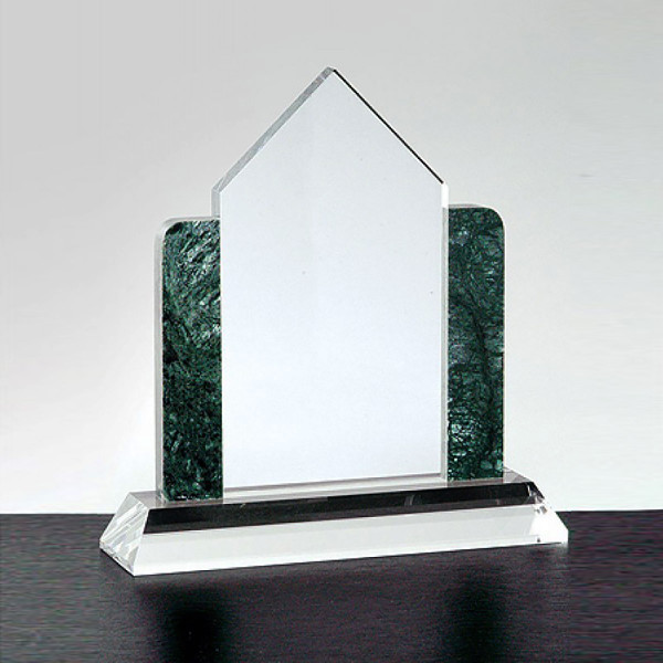 Crystal House with Marble Sides