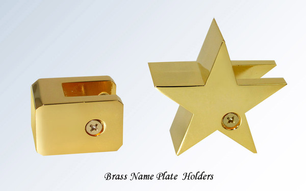 Brass Name Plate Holders