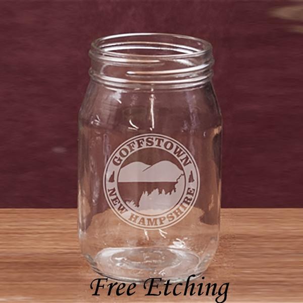 16 oz. Old Fashioned Drinking Jar