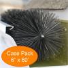 """Gutter Brush Gutter Guard 6"""" 60' Pack from GutterBrush"""