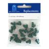 2.5 Volt CLEAR Mini Replacement Bulbs - Green Husks - GKI Bethlehem
