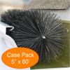 """Gutter Brush Gutter Guard 5"""" 60' Pack from GutterBrush"""