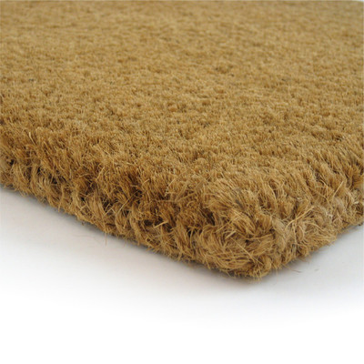 "Premium Natural Coir Fiber Mat - 1-1/4"" Thick - Assorted Sizes"