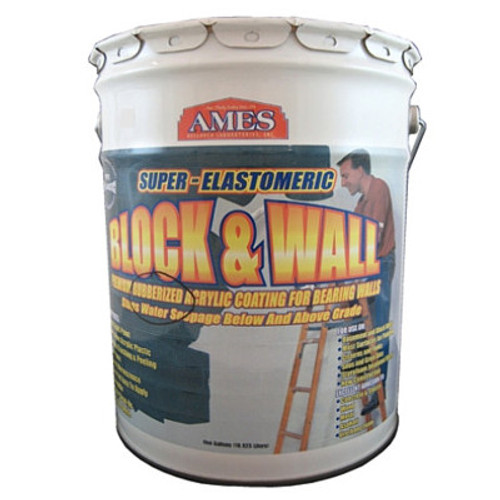 Ames Block & Wall Acrylic Coating 5-Gallon