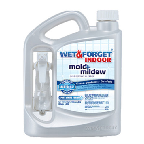 Wet & Forget Indoor - Half Gallon - Mold and Mildew Cleaner