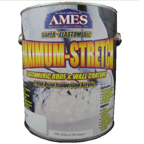 Ames Maximum-Stretch Elastiomeric Roof & Wall Coating Gallon